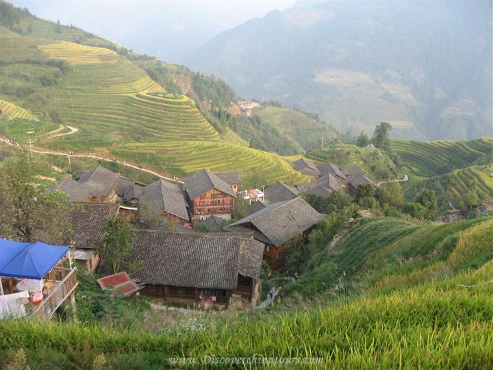Rice Terraces field of Longji