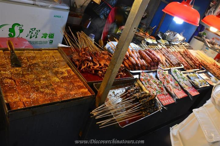 Wuhan Featured Food in Hubuxiang Lane