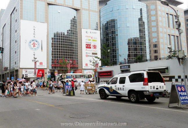 Prince Gong Mansion and Wangfujing will be closed for military parade