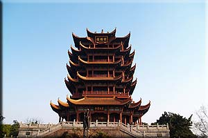 Half Day Wuhan Highlights Tour--Guiyuan Temple & Yellow Crane Tower Tour