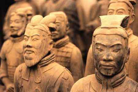 1 Day Xian Bus Tour--Terra-cotta Museum, Tomb of Qingshihuang, Banpo Neolithic Village Museum