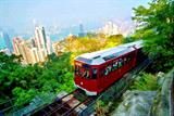 Half Day Hong Kong Island Tour to Victoria Peak, Aberdeen Harbour and Repulse Bay