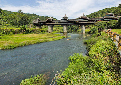 Chengyang Wind and Rain Bridge 1