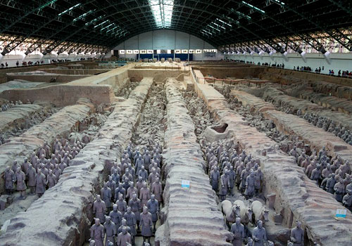 Terra Cotta Warriors and Horses 1