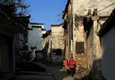 Ling Shan Village is with very few visitors