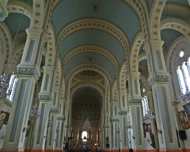 Xikai Church interior visit gives you a completely different experience in Tianjin