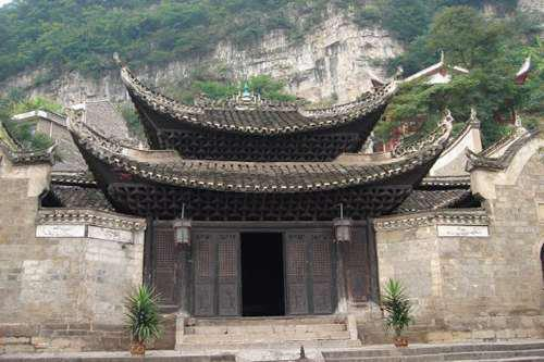 Queen of Heaven Palace is a well preserved historical attraction in Zhenyuan, Guizhou province